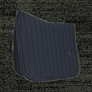 Kentucky Saddle Pad Velvet Pearls - Dressage Black