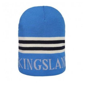 Kingsland Blå Hue med Striber