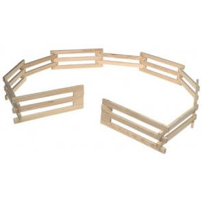 Breyer Horse Wood Corral