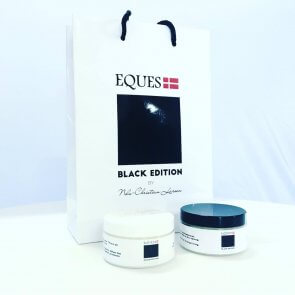 Eques black edition sadelpleje sæt