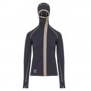 66° North Vík hooded Women's fleece jacket sort