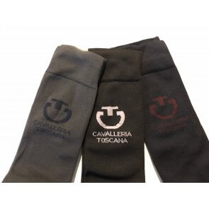Cavalleria Toscana Light Full Logo Socks 3 pak