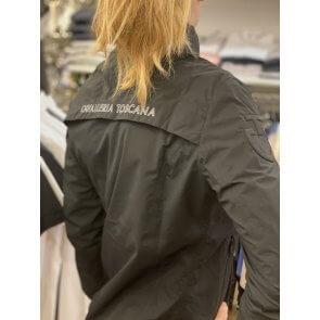 Cavalleria Toscana Nylon And Mest Water Proof Zip Jacket W/Stow Away Sort