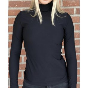 Cavalleria Toscana jersey fleece turtleneck polo sort