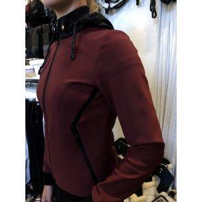 Cavalleria Toscana jersey detachable hood bordeaux