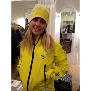 66° North Snaefell women's jacket Yellow