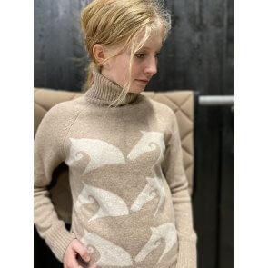 Vestrum Sappada Knitwear w. Turtle Neck Beige