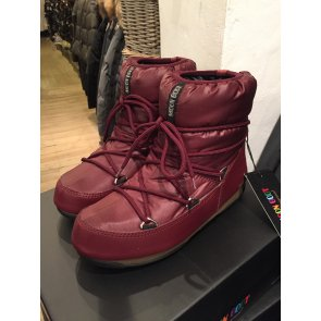 Moon Boot W.E Low Bordeaux