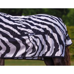 Bucas mavestykke til Zebra dækkenet