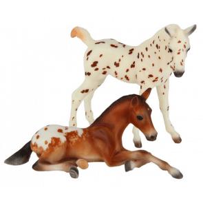 Breyer Appaloosa foals