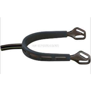 HS sorte sporer med sort grib 3,5cm
