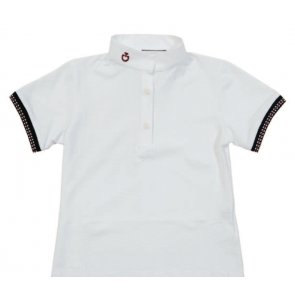 Cavalleria Toscana Ions Polo Shirt Girl JR