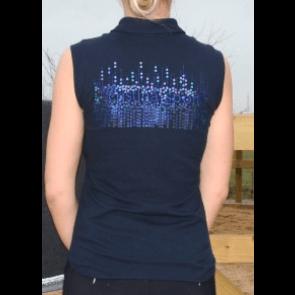 Cristina Sport Cotone polo t-shirt uden ærmer