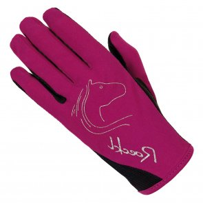 Roeckl Tryon Junior Glove Berry
